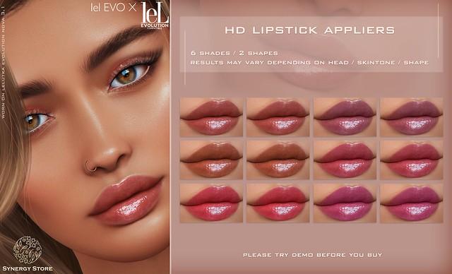 Synergy - Lelutka HD Lipstick Applier for EVO / EVO X heads - Sestao♥