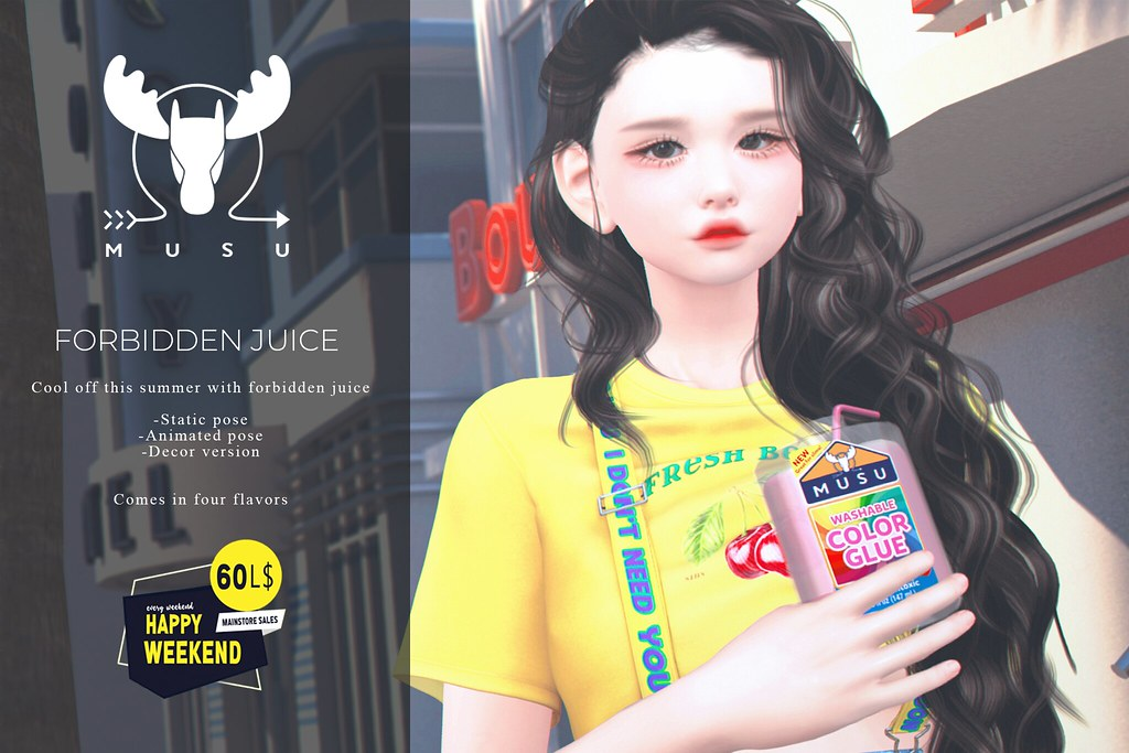 -MUSU- Forbidden Juice @ Happy Weekend