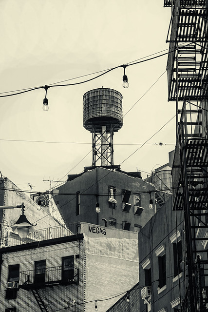 Doyers St--Water Tower