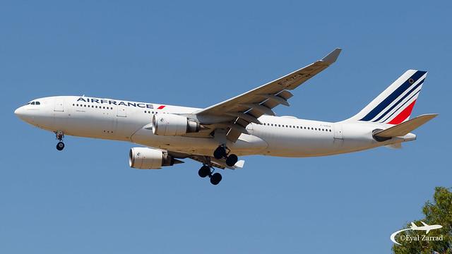 TLV - Air France Airbus A330-200 F-GZCA