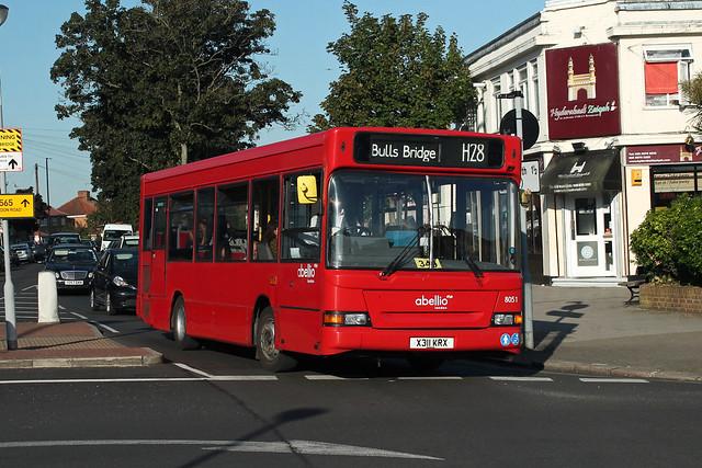 Route H28, Abellio London, 8051, X311KRX