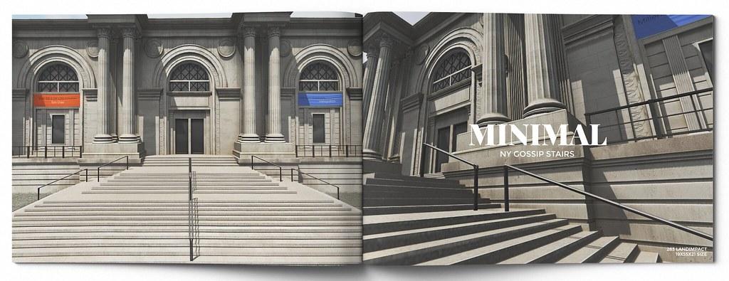MINIMAL – NY Gossip Stairs