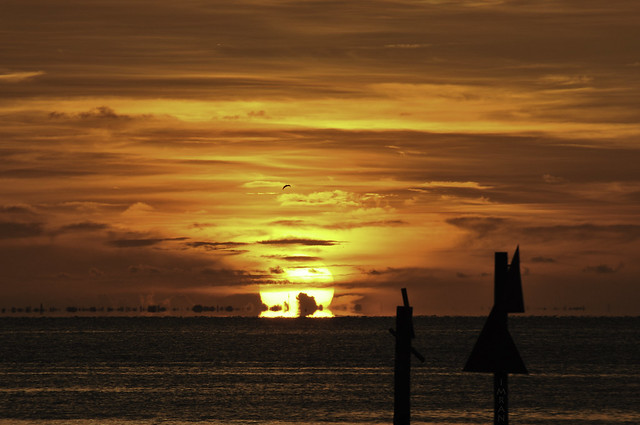 Beyond Breathtaking Sunset Paints Tampa Bay Florida Sky In Infinite Colors Of God's Magic - IMRAN™ (SOOC) {In Explore!}