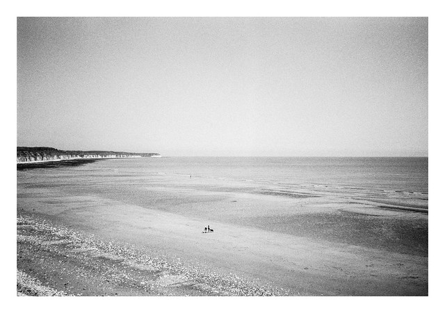 On a North Sea beach