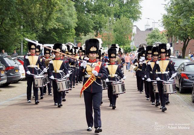 20210710 - Marchingband rondgang Sassenheim
