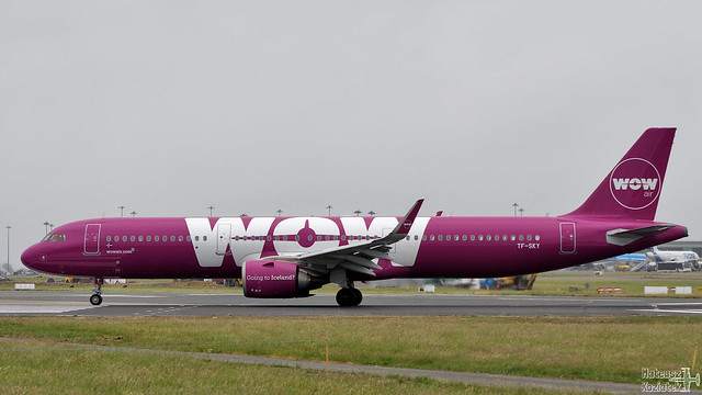WOW air 🇮🇸 Airbus A321neo TF-SKY