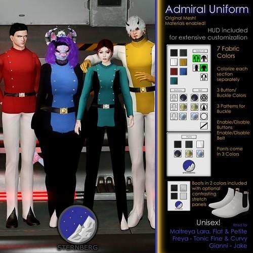Admiral Uniform