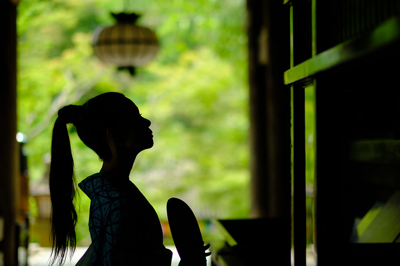 Green and Silhouette