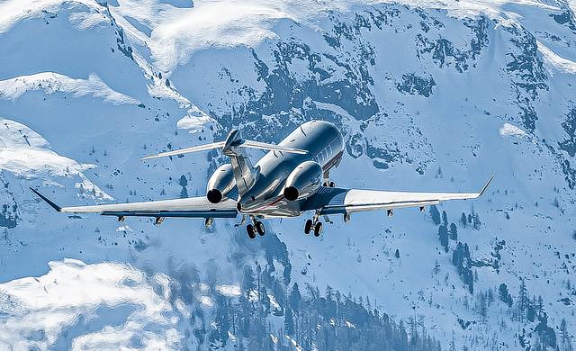 SMV/LSZS: VistaJet Malta /Bombardier Challenger 350 / 9H-VCF