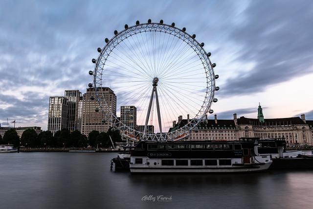 London Eye, Blue Hour
