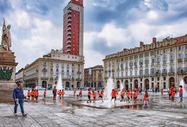 Piazza Castello - Bambini in festa (on Explore)