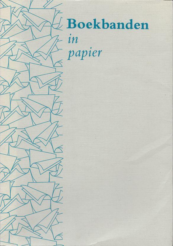 BoekbandenInPapierNationaleWedstrijdNederlandseHandboekbindersEnBoekbandontwerpersgroep1985