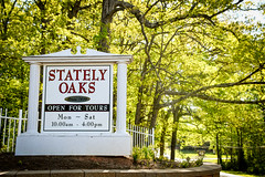 stately oaks sign