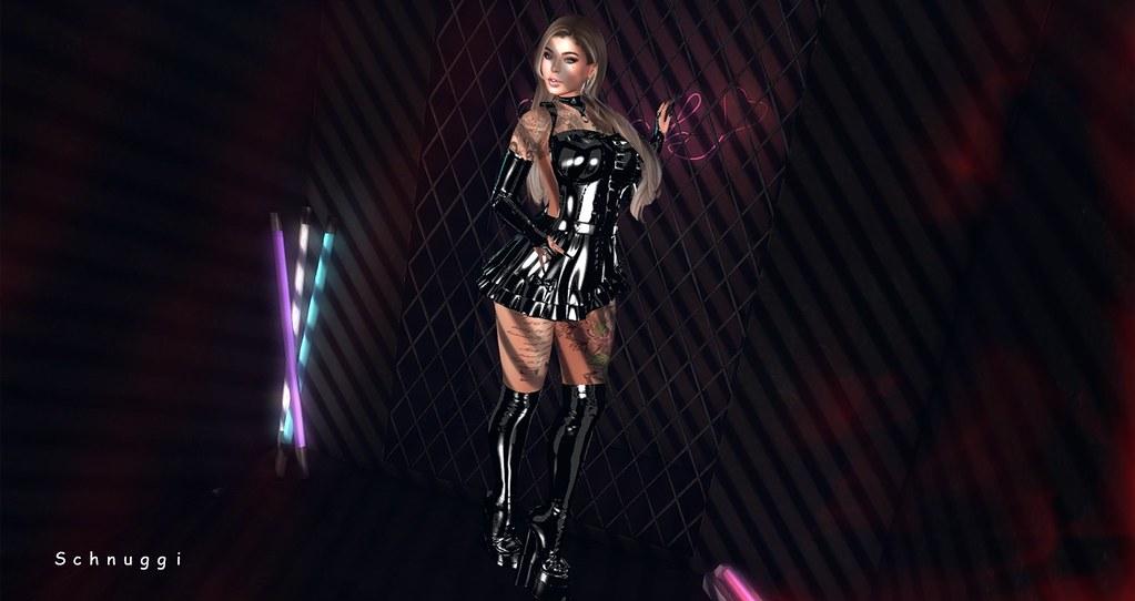 [FLS] Latex Wullasa Dress & [FLS] Latex Samys Boots