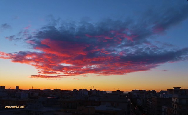 Tramonto in città - Sunset in the city
