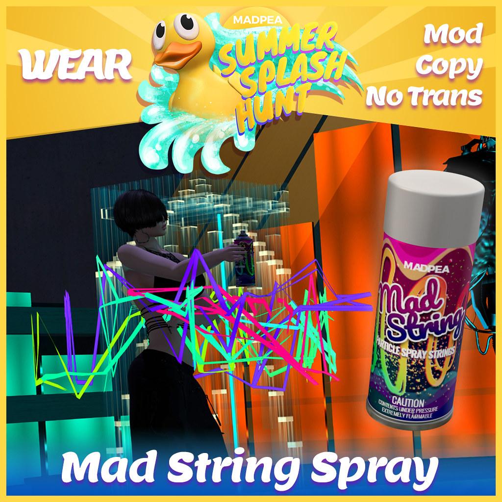 Summer Hunt Prize Reveal: Mad String Spray