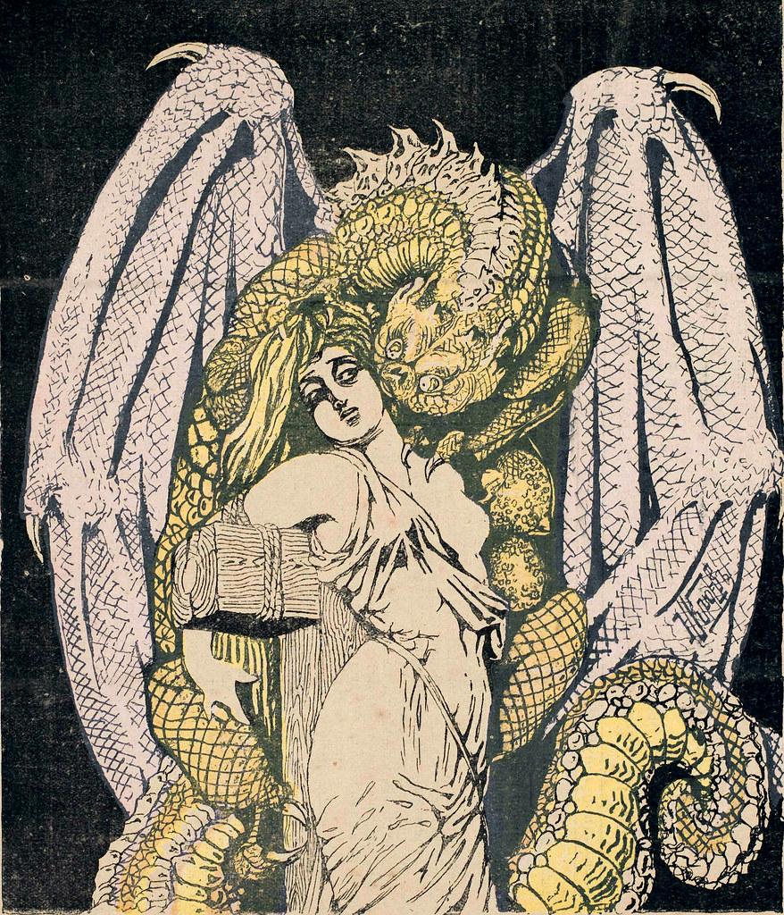 Russian Satircal Illustration, 1906