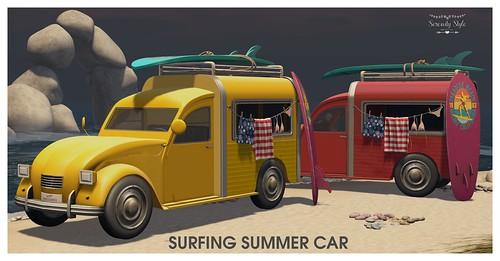 Serenity Style- Surfing Summer Car