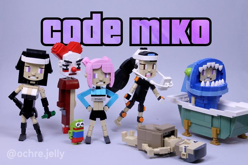 Code Miko in LEGO