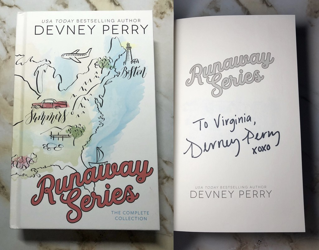 RUNAWAY SERIES (SPECIAL EDITION HARDCOVER) by Devney Perry