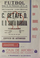 Temporada 1966/67: UD Santa Bárbara – Getafe