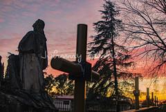 Monumento primitivo, Cerro de los Ángeles - Getafe (Madrid / España(