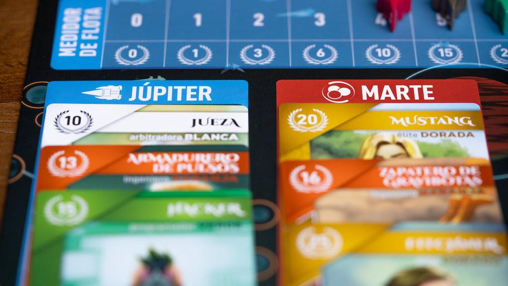 Amanecer Rojo boardgame juego de mesa