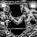 Slugfest. Boxing in black and white