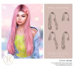 RAMA.SALON - Luna Hair @Equal10