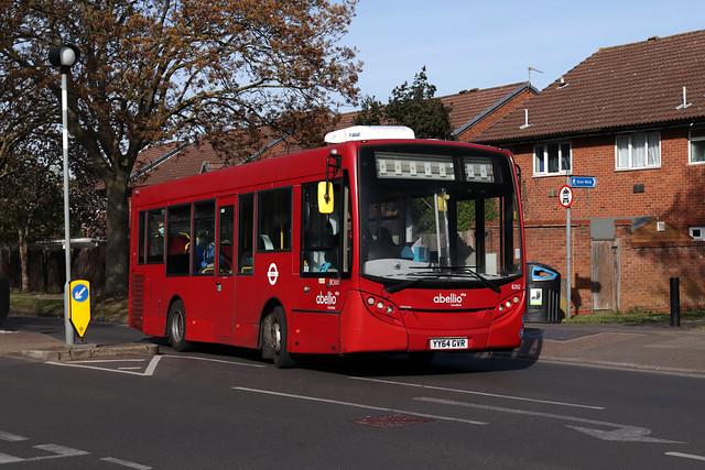 Strike Extra: Route H20, Abellio London, 8202, YY64GVR