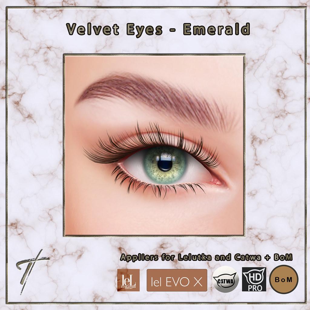 Velvet Eyes *emerald*