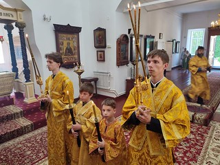 10.07.2021 | Божественная литургия в Антониево-Леохновском монастыре