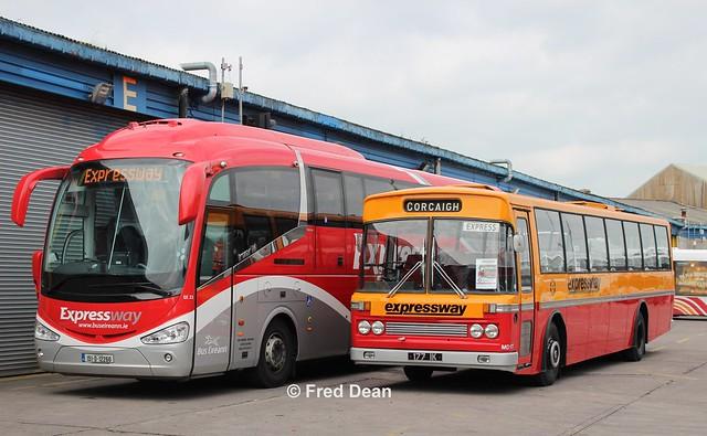 Bus Éireann SE23 & CIÉ MD177.