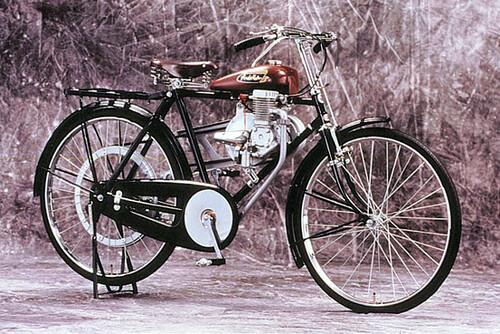 Motor Pertama Honda A-Type