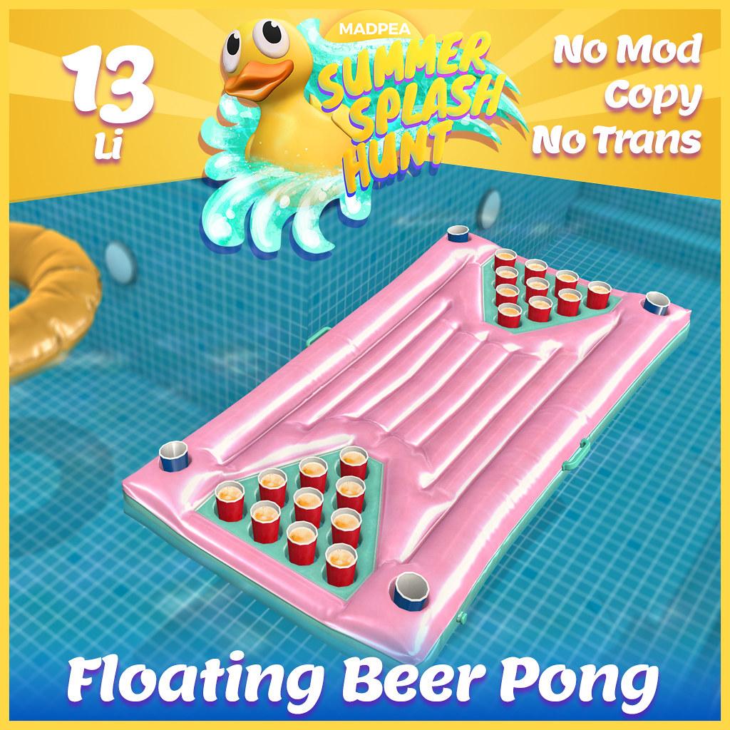 Summer Hunt Prize Reveal: Floating Beer Pong