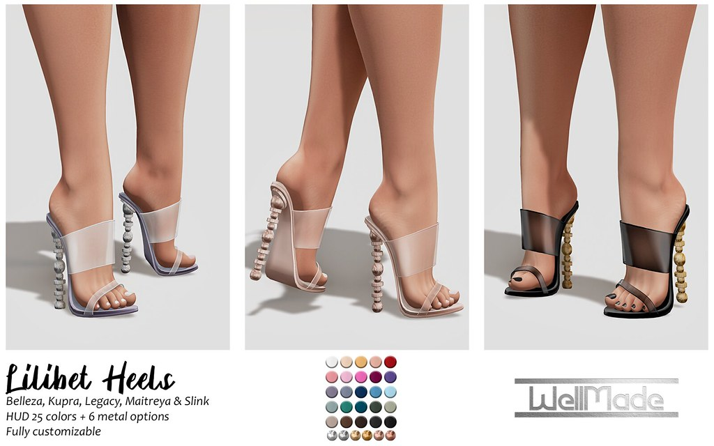 [WellMade] Lilibet Heels
