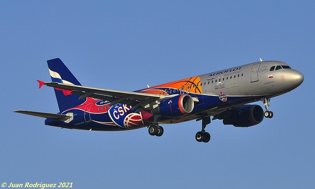 VQ-BEJ - Aeroflot - Russian Airlines - Airbus A320-214 - PMI/LEPA