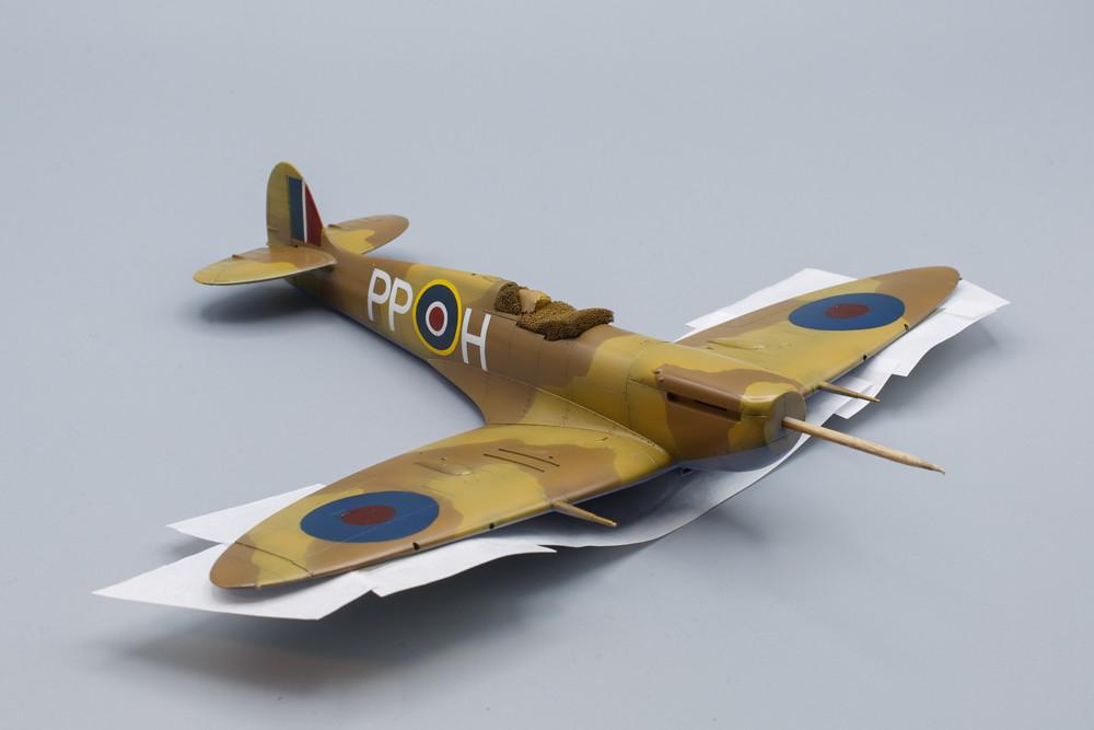 Spitfire mk.Vb Trop extrados terminé