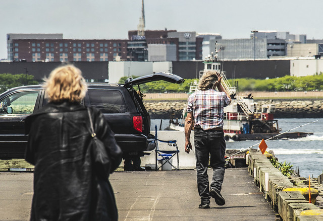 People on Pier