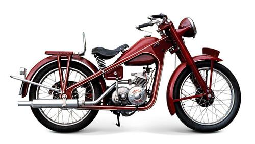 Motor Pertama Honda D-Type Dream