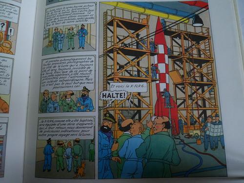 """Pas-à-pas : Vignette inspirée de l'album de  Tintin """"Objectif Lune"""" 51303343197_80b19da730"""