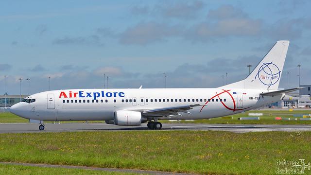 AirExplore 🇸🇰 Boeing 737-400 OM-CEX