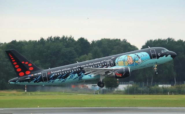 Brussels Airlines, OO-SNB,MSN 1493,Airbus A320-214, 10.07.2021,HAM-EDDH, Hamburg
