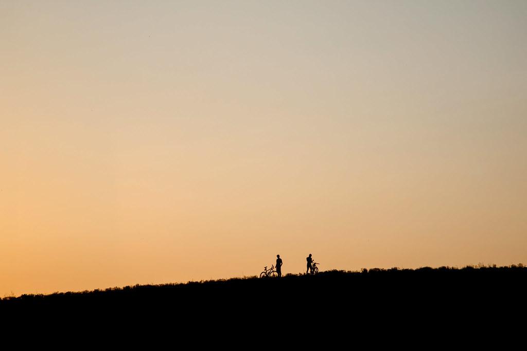 sunset_bikes