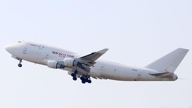 Kalitta Air B747-400 N707CK departing HKG/VHHH