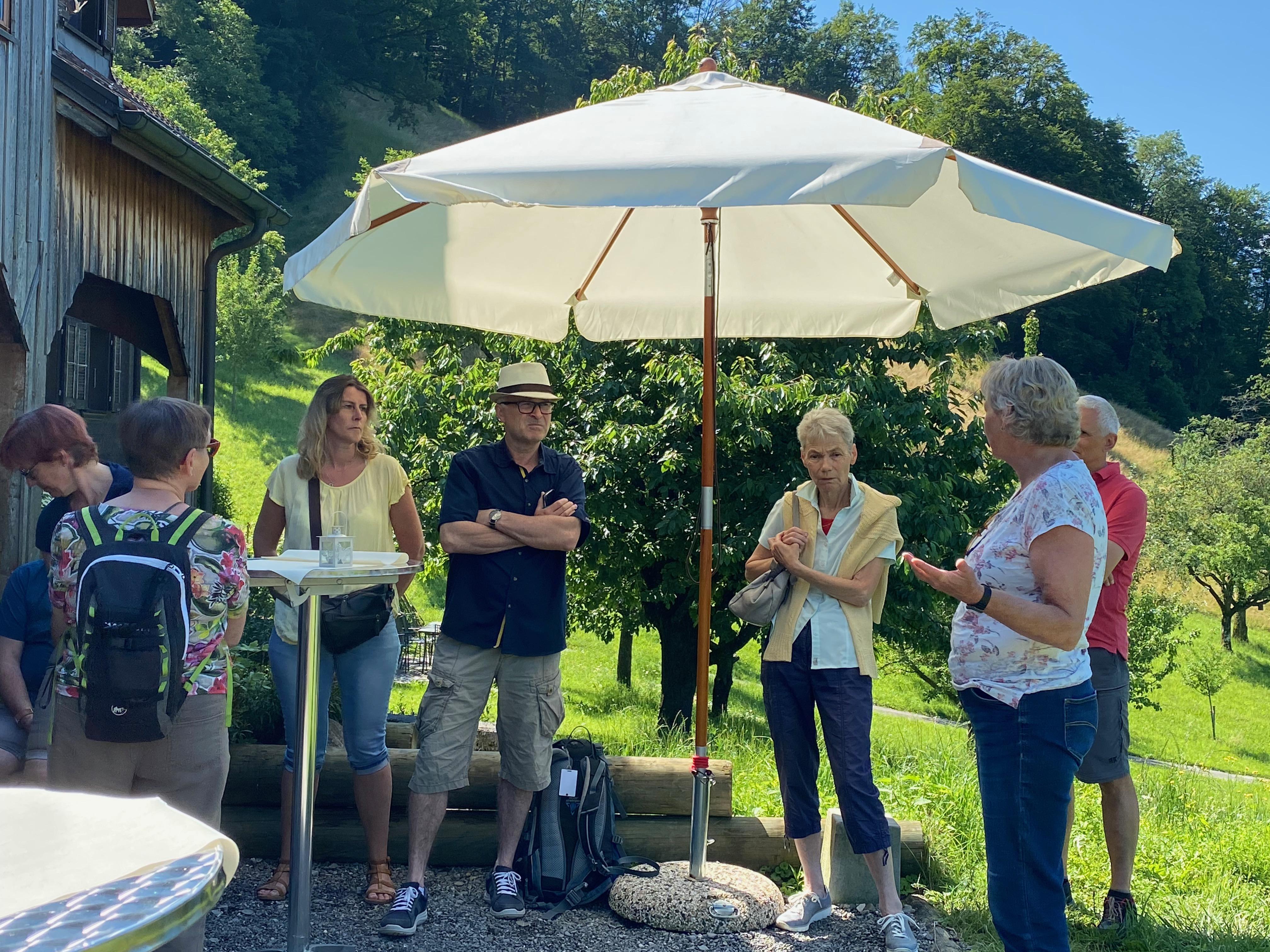 Familien-Picknick Besuch Weinbau Sonnenrain Horw (10.06.2021)