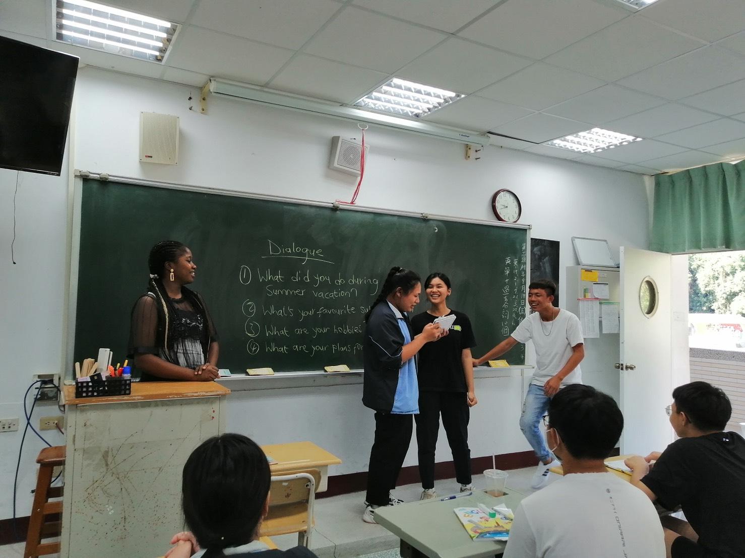 六龜高中選修課上課狀況-2。(六龜高中提供)