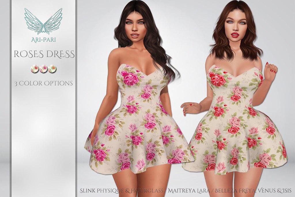 [Ari-Pari] Roses Dress