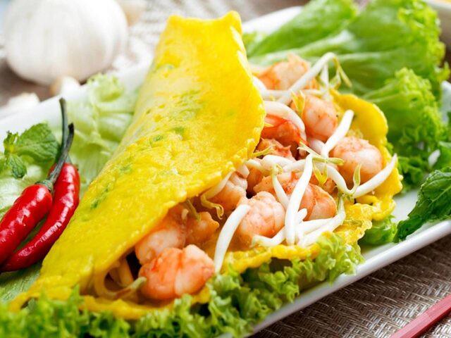 Squid Pancake Nha Trang