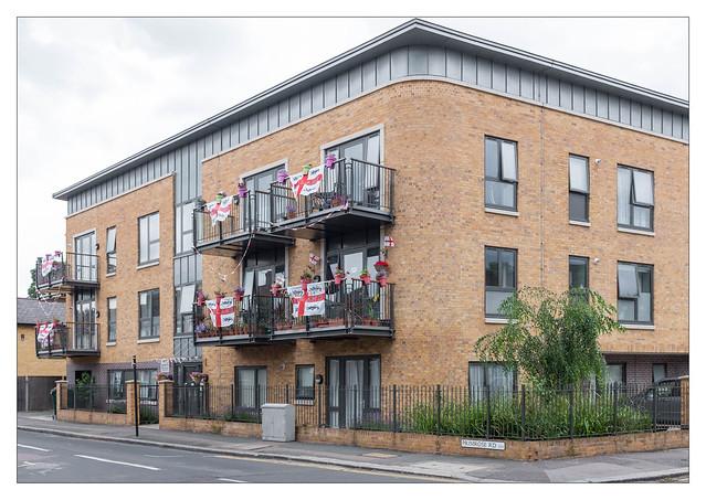 The Built Environment, Leyton, East London, England.